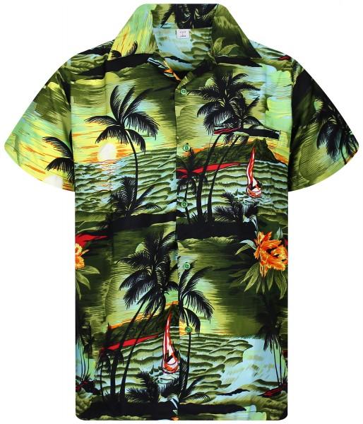 Funky Hawaiihemd | Herren | XS - 12XL | Surf Neu | Mehrere Farbvarianten