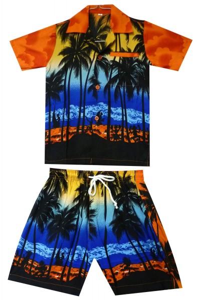 Funky Kinder Cabana Set | Hawaiihemd und Hose | Kinder | 2 - 8 Jahre | Beach | Mehrere Farben