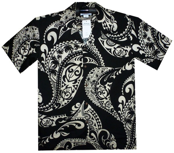 Pacific Legend | Original Hawaiihemd | Herren | S - 4XL | Tattoos | Schwarz