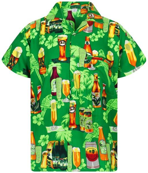 Funky Hawaiihemd | Herren | XS - 12XL | Bierflaschen | Mehrere Farbvarianten