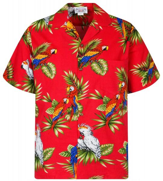 Pacific Legend | Original Hawaiihemd | Herren | S - 4XL | Kakadu Papagei | Mehrere Farbvarianten