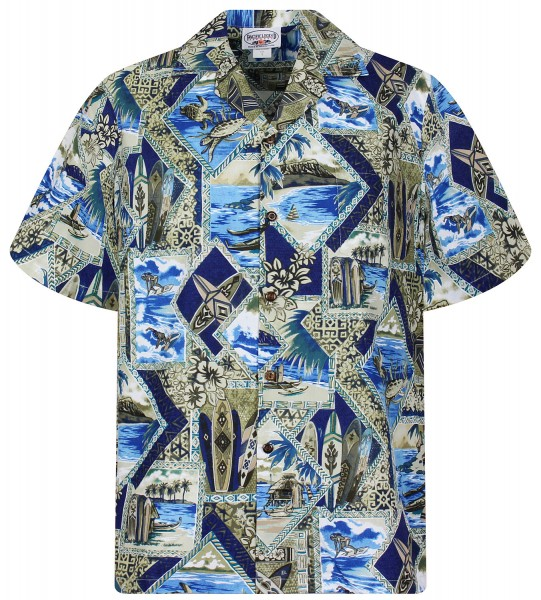 Pacific Legend | Original Hawaiihemd | Herren | S - 4XL | Surf Turtle