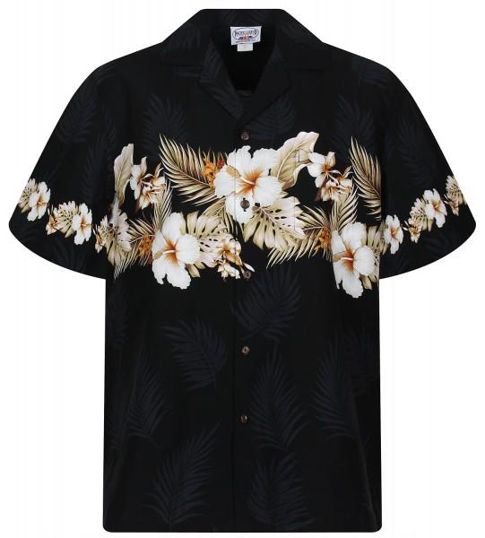 Pacific Legend | Original Hawaiihemd | Herren | S - 4XL | Blüten Palmen | Mehrere Farbvarianten