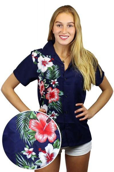 Funky Hawaiibluse | Hawaiihemd | Damen | XS - 6XL | Wedding | Mehrere Farbvarianten
