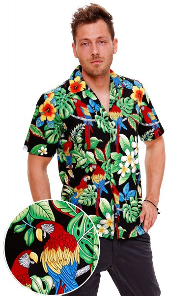 Pacific Legend | Original Hawaiihemd | Herren | S - 4XL | Papagei | Mehrere Farbvarianten