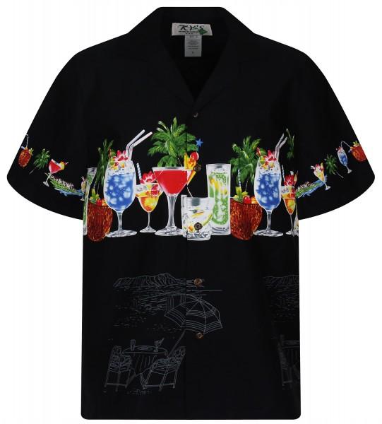 KY's | Original Hawaiihemd | Herren | S - 8XL | Cocktails Party Palmen | Mehrere Farbvarianten