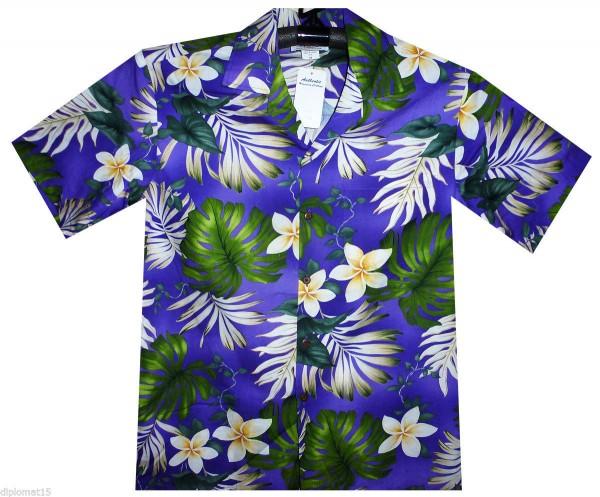 Pacific Legend | Original Hawaiihemd | Herren | S - 4XL | Blumen Palmen | Mehrere Farbvarianten