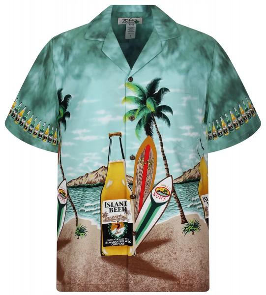 KY's | Original Hawaiihemd | Herren | S - 8XL | Bier Strand Party | Mehrere Farbvarianten