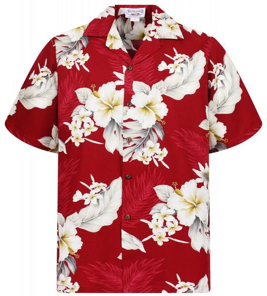 Pacific Legend | Original Hawaiihemd | Herren | S - 4XL | Enzian Blumen | Mehrere Farbvarianten