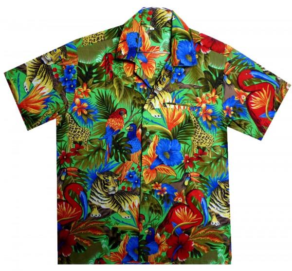 Funky Hawaiihemd | Herren | XS - 12XL | Dschungel | Mehrere Farbvarianten
