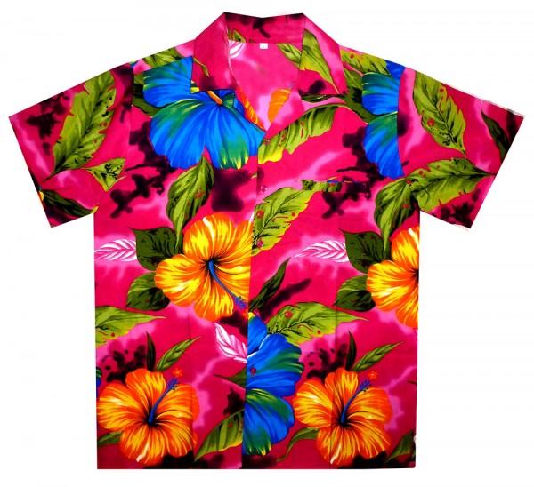 Funky Hawaiihemd | Herren | XS - 12XL | Big Flower | Mehrere Farbvarianten