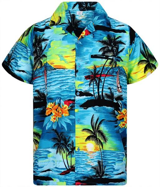 Funky Hawaiihemd | Herren | XS - 12XL | Surf | Mehrere Farbvarianten