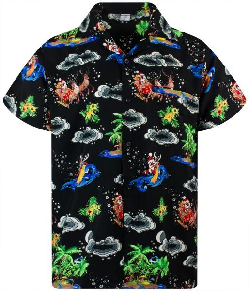 Funky Hawaiihemd | Herren | XS - 6XL | Weihnachten X-Mas Island | Mehrere Farben