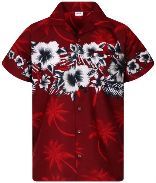 Funky Hawaiihemd | Herren | XS - 6XL | Blumen BD | Mehrere Farbvarianten