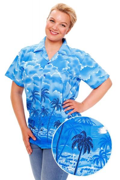 Funky Hawaiibluse | Hawaiihemd | Damen | XS - 6XL | Dusty | Mehrere Farbvarianten