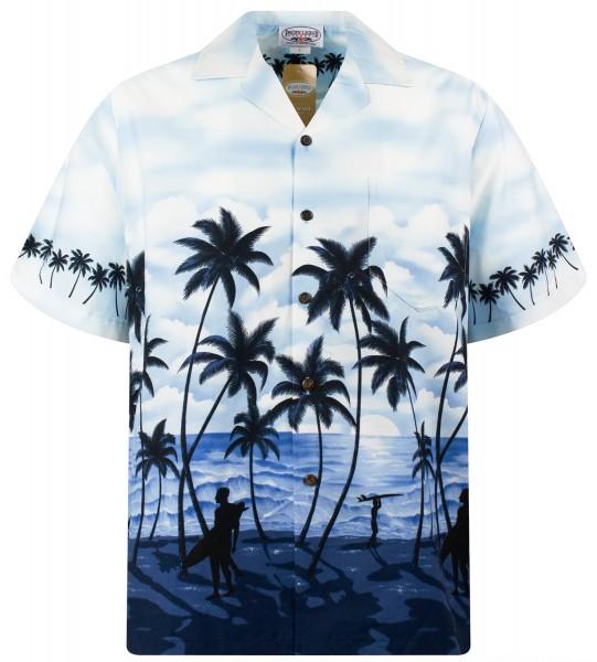 Pacific Legend | Original Hawaiihemd | Herren | S - 4XL | Strand Palmen | Mehrere Farbvarianten