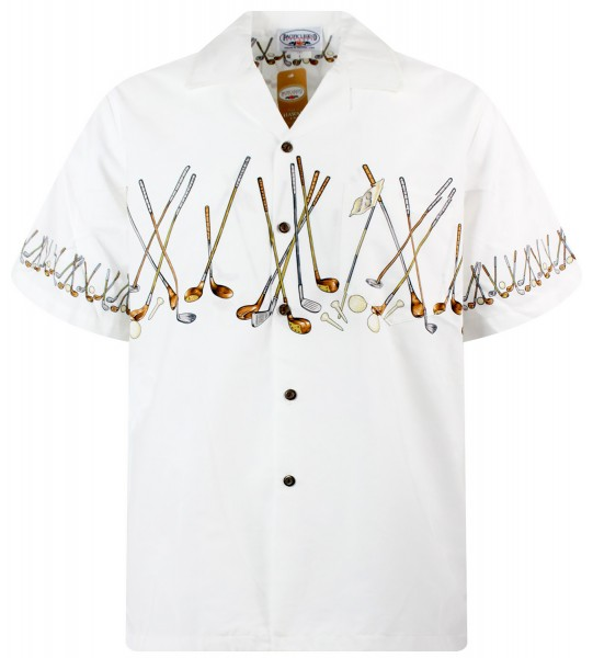 Pacific Legend | Original Hawaiihemd | Herren | S - 4XL | Golfschläger |