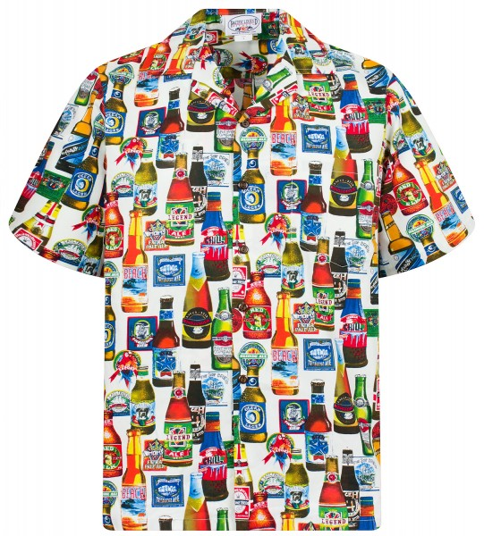 Pacific Legend | Original Hawaiihemd | Herren | S - 4XL | Bier | Mehrere Farbvarianten