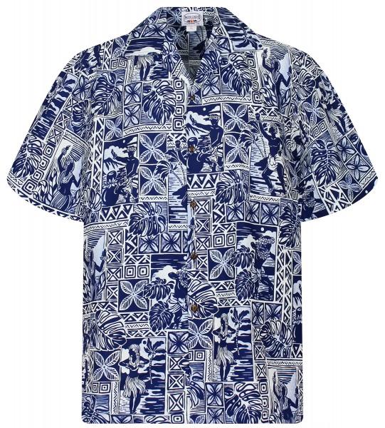 Pacific Legend | Original Hawaiihemd | Herren | S - 4XL | Hula Puzzle |