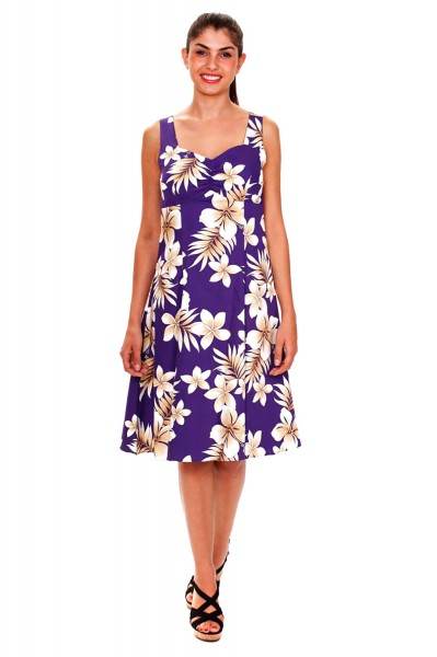 Pacific Legend | Original Hawaiikleid | Damen | S - XXL | Sommer | Blumen | Mehrere Farbvarianten