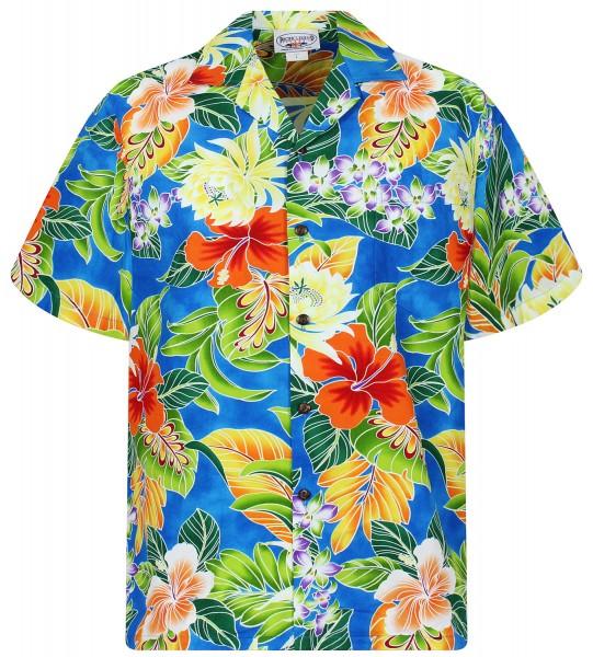 Pacific Legend | Original Hawaiihemd | Herren | S - 4XL | BlumenDschungel | Mehrere Farbvarianten